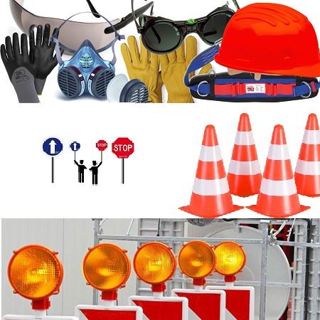 señalizacion y ropa proteccion obras